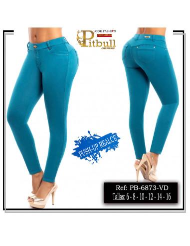 pantalon pitbull verde pb6873